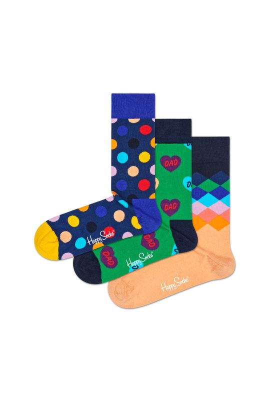 Happy Socks Geschenkbox I LOVE YOU DAD GIFT BOX XFAT08-7300 Grün – Bild 1