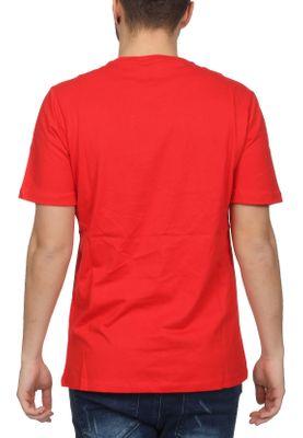 Sergio Tacchini T-Shirt Herren CHIKO 038049 Vintage Red White – Bild 1