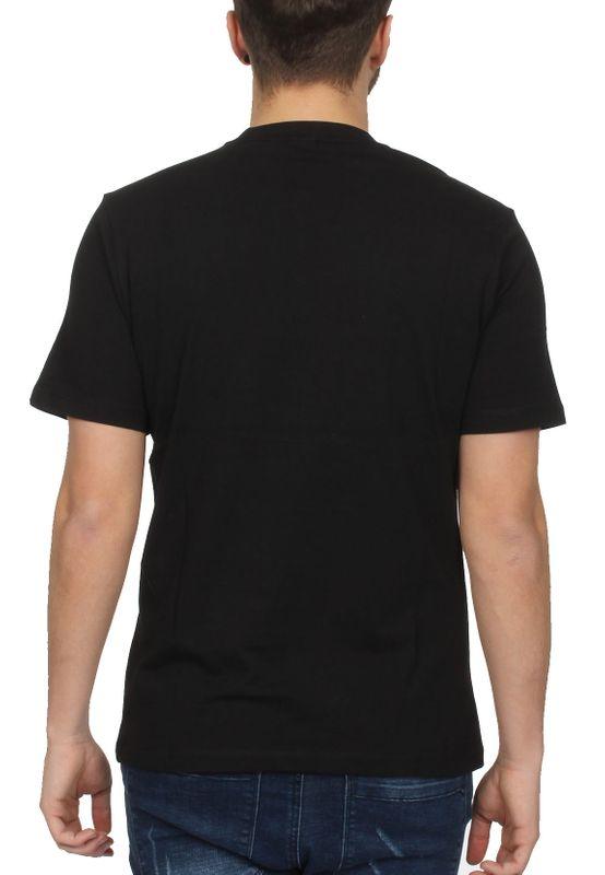 Sergio Tacchini T-Shirt Herren IBERIS 037740 Black White – Bild 1