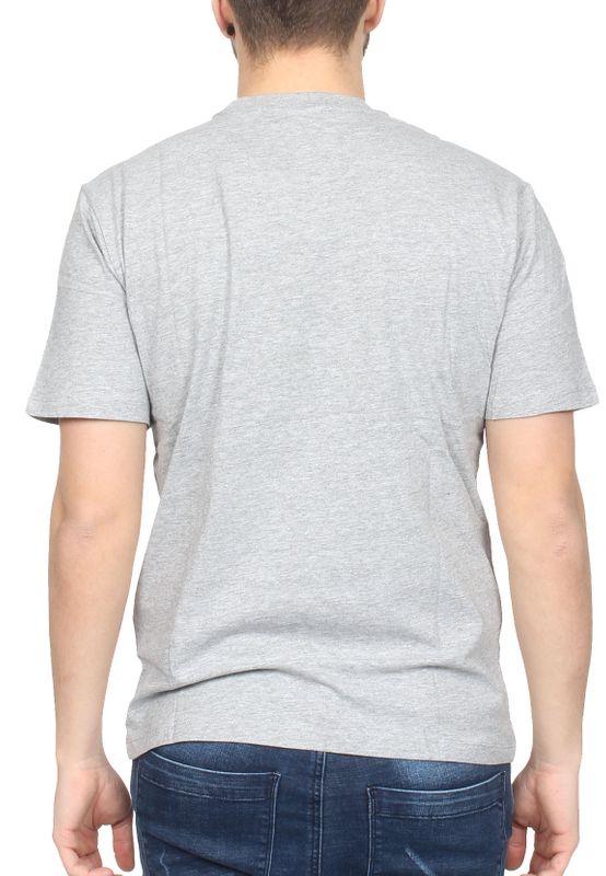 Sergio Tacchini T-Shirt Herren IBERIS 037740 Grey Melange Navy – Bild 1