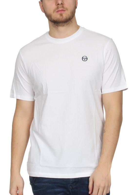 Sergio Tacchini T-Shirt Herren DAIOCCO 037384 White Navy – Bild 0