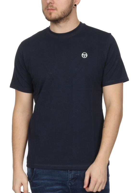 Sergio Tacchini T-Shirt Herren DAIOCCO 037384 Navy White – Bild 0