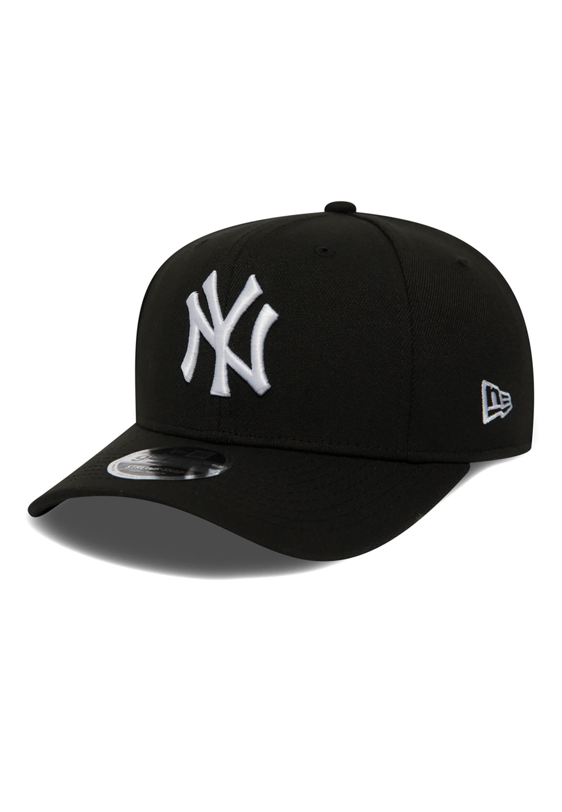 41fc13825 Details about New Era Stretch Snap 9Fifty Snapback Cap Ny Yankees Black