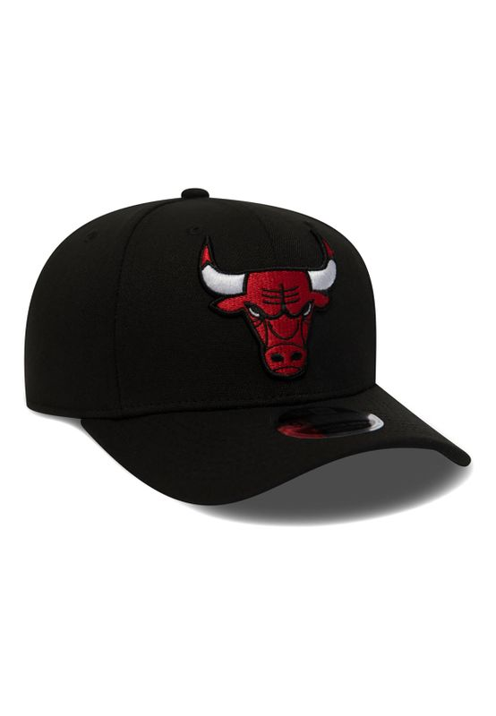 New Era Stretch Snap 9Fifty Snapback Cap CHICAGO BULLS Schwarz – Bild 2