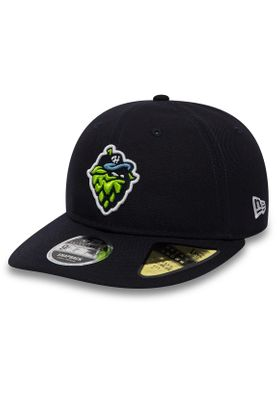 New Era MILB Retro Crown 9Fifty Snapback Cap HILLSBORO HOPS Dunkelblau