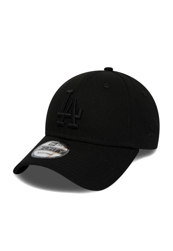New Era 9Forty Snapback Cap LA DODGERS Schwarz Schwarz – Bild 1