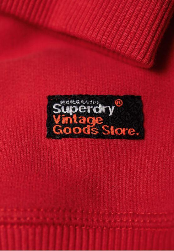 Superdry Sweater Herren SWEAT SHIRT STORE CREW Superdry Stadium Red – Bild 2