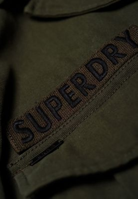 Superdry Jacke Damen MILITARY CROP JACKET Washed Khaki – Bild 2