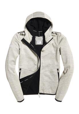 Superdry Jacke Damen HOODED PRISM WINDTREKKER Grey Slub/Black – Bild 0