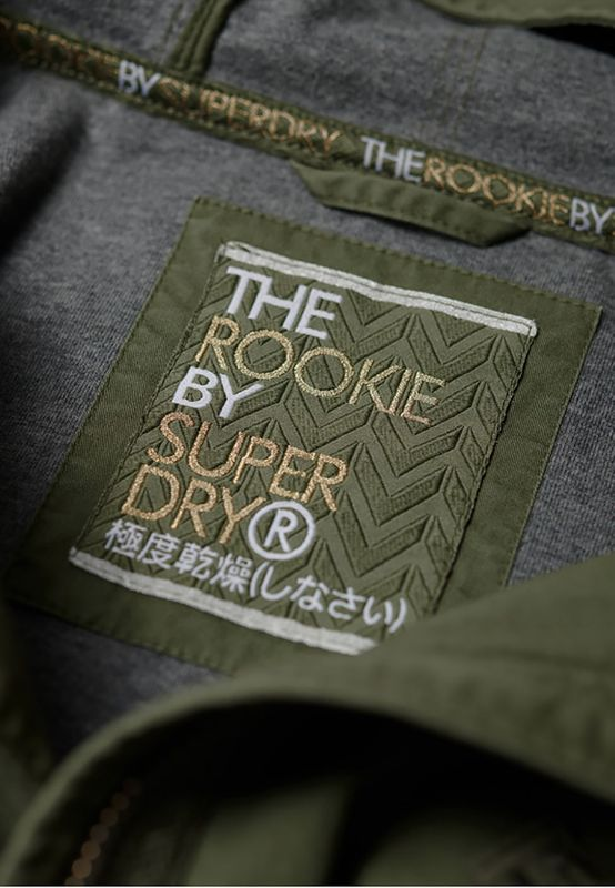 Superdry Jacke Damen ROOKIE BONDED PARKA Khaki – Bild 4