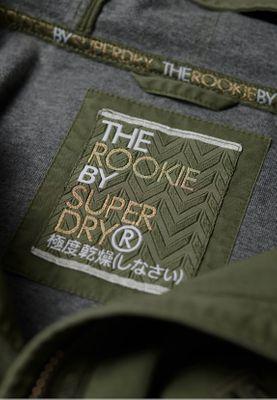 Superdry Jacke Damen ROOKIE BONDED PARKA Khaki – Bild 3