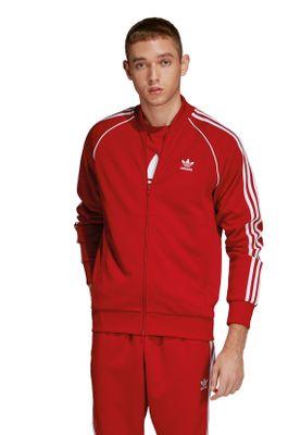 Adidas Originals Herren Sweatjacke SST TT DV1514 Rot – Bild 1