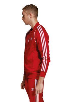 Adidas Originals Herren Sweatjacke SST TT DV1514 Rot – Bild 2