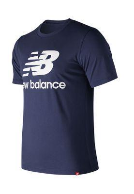 New Balance Herren T-Shirt ESSE ST LOGO TEE MT91546 Blau Pigment