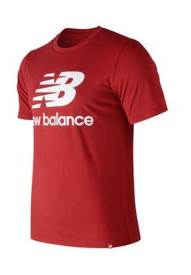 New Balance Herren T-Shirt ESSE ST LOGO TEE MT91546 Rot Team Red