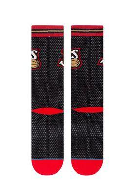 Stance Herrensocken NBA SIXERS 01 HWC Black – Bild 2