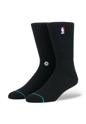 Stance Herrensocken NBA LOGOMAN CREW II Black