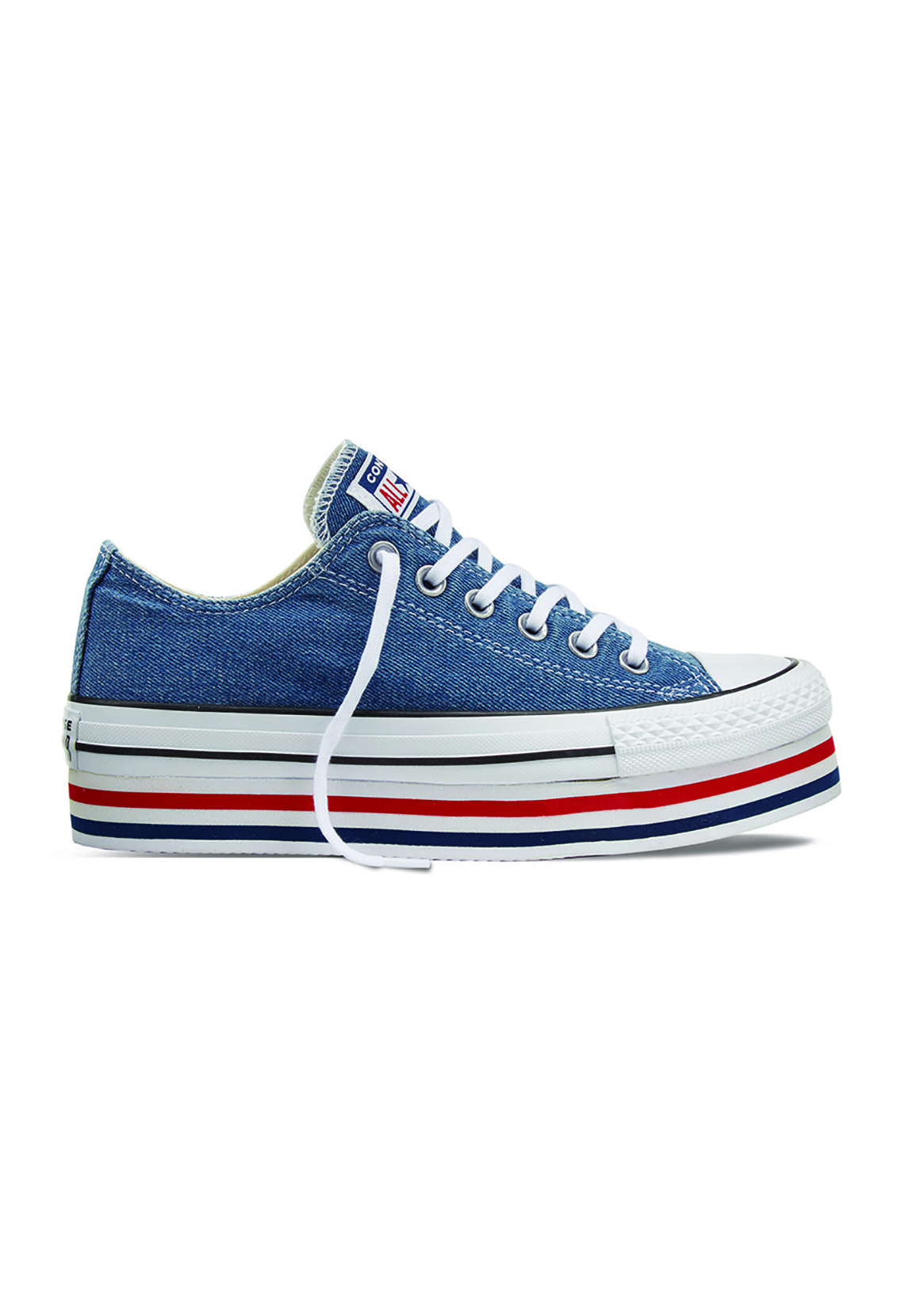 bea8bf65 Details about Converse Chucks Ct as Platform Layer Ox 563973C Blue