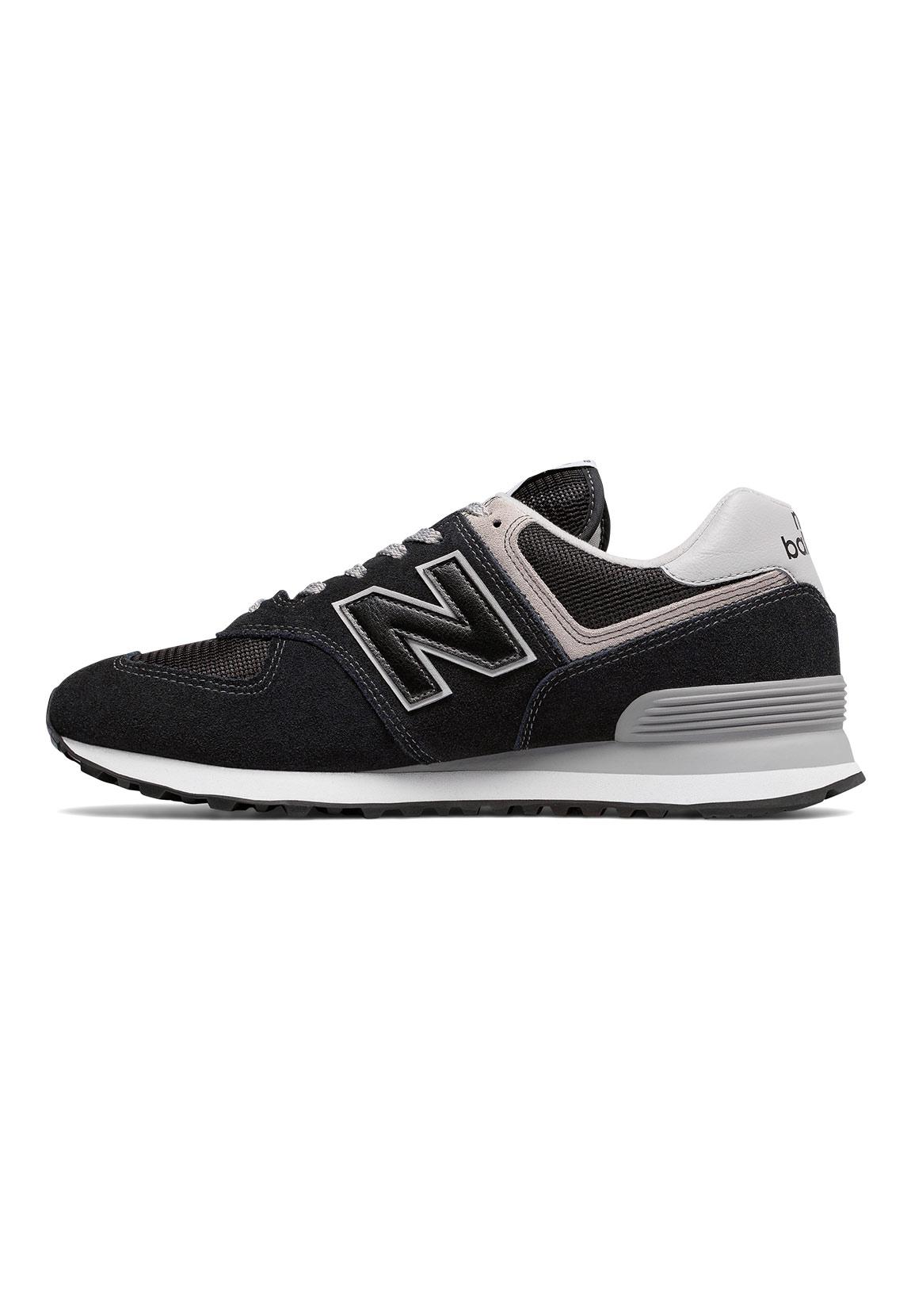 new balance sneaker herren ml574egk schwarz black schuhe. Black Bedroom Furniture Sets. Home Design Ideas