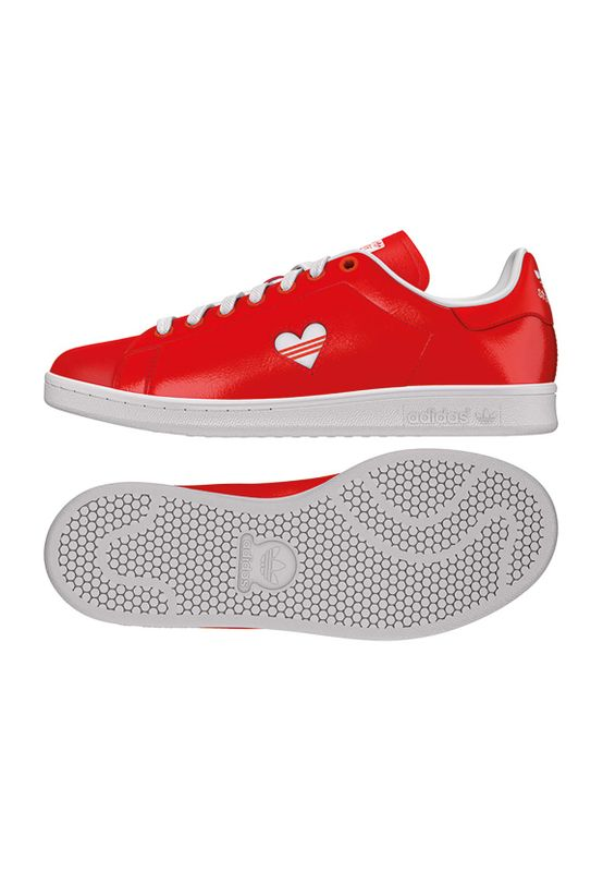 Adidas Originals Sneaker STAN SMITH W G28136 Rot – Bild 1