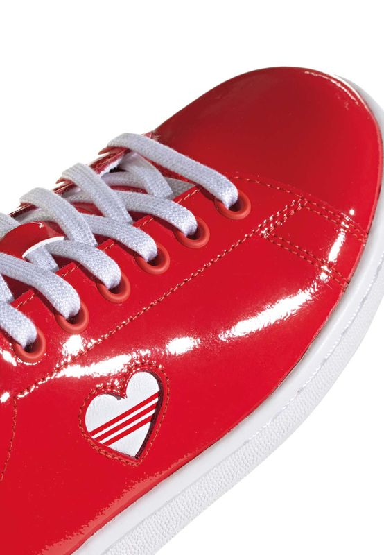 Adidas Originals Sneaker STAN SMITH W G28136 Rot – Bild 4