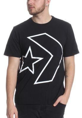 Converse T Shirt Herren MEN´S TILTED STAR CHEVRON TEE 10008448 001 Black