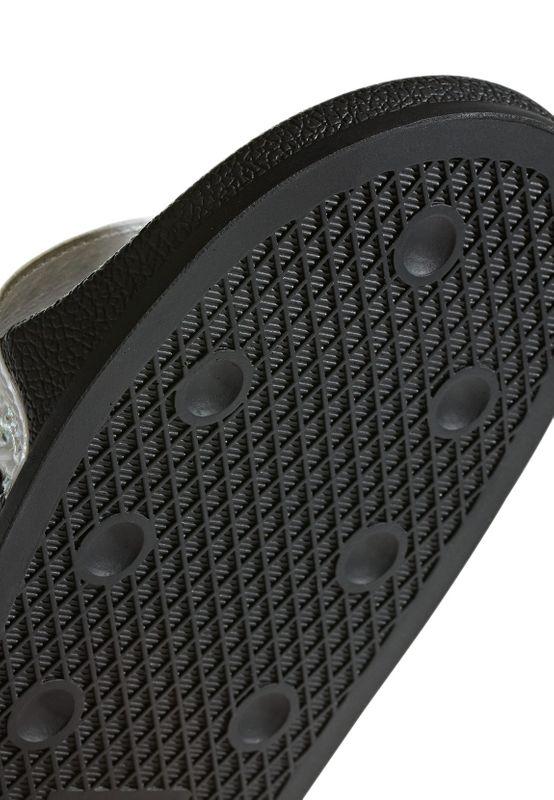 Adidas Originals Badelatschen ADILETTE CG6256 Schwarz Glitzer Weiss – Bild 7