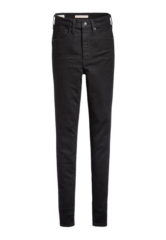 Levi´s Jeans Damen MILE HIGH SUPER SKINNY 22791-0052 Black Galaxy Ansicht
