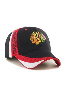 47 Brand MVP Adjustable Cap CHICAGO BLACKHAWKS H-NTRZN04OFV-BK Schwarz – Bild 0