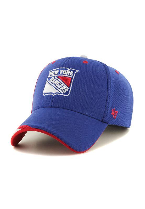 47 Brand MVP Adjustable Cap NY RANGERS H-NTRZN13OFV-RY Blau – Bild 1