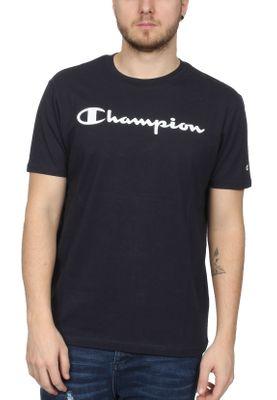 Champion T-Shirt Herren 212687 S19 BS501 NNY Dunkelblau – Bild 0