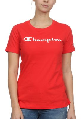 Champion T-Shirt Damen 111436 S19 RS041 FLS Rot – Bild 0