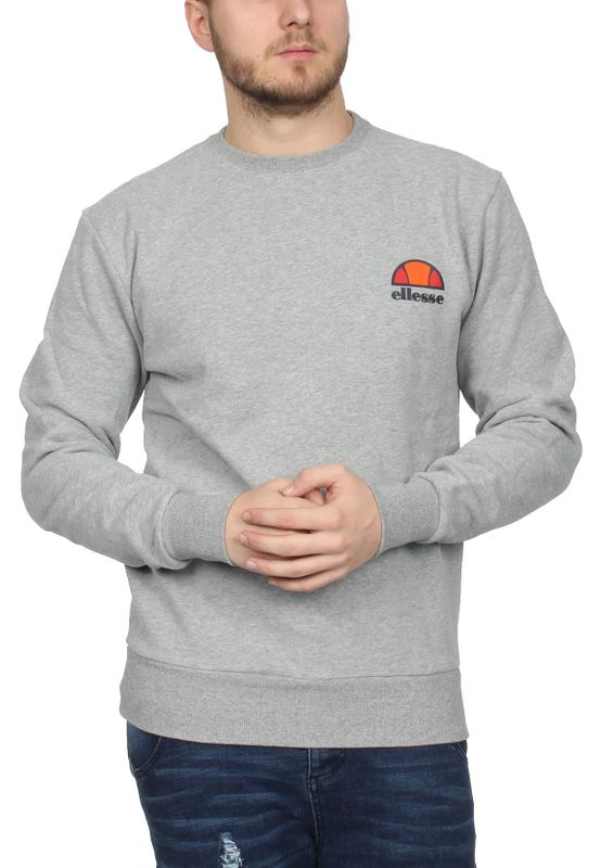 Ellesse Sweater Herren DIVERIA CREW SWEAT Grau Grey Marl – Bild 1