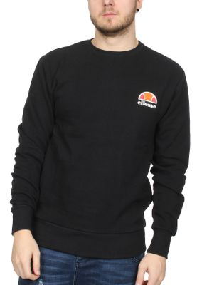 Ellesse Sweater Herren DIVERIA CREW SWEAT Schwarz Anthracite – Bild 0