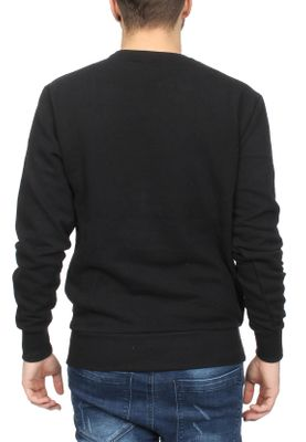 Ellesse Sweater Herren DIVERIA CREW SWEAT Schwarz Anthracite – Bild 1