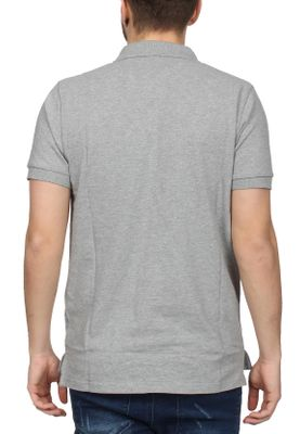 Ellesse Poloshirt Herren MONTURA POLO Grau Athletic Grey Marl – Bild 1