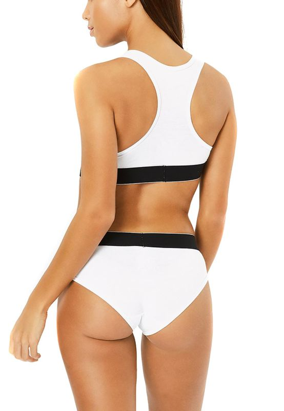 Ellesse Crop Top CRYSTA 2PK CROP TOP SFAY1695 Weiß White – Bild 2