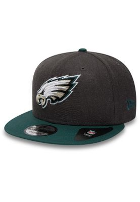New Era NFL Heather 9Fifty Snapback Cap PHILADELPHIA EAGLES Grau