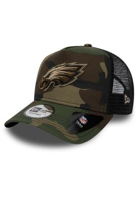 New Era Camo Essential Trucker Cap PHILADELPHIA EAGLES Camouflage