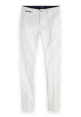 Scotch & Soda Chino Men MOTT 148778 White 0102 Weiss