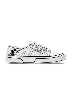 Superga Sneaker CARTOON 2750 COMICSCOUPLECOTU S00F8F0 908 Weiß White Blackred – Bild 0