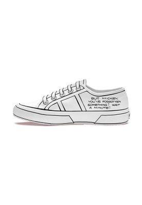 Superga Sneaker CARTOON 2750 COMICSCOUPLECOTU S00F8F0 908 Weiß White Blackred – Bild 1