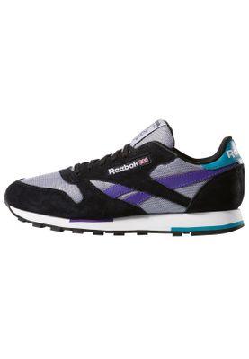 Reebok Sneaker CL LEATHER MU CN7035 Mehrfarbig Black Wht Shadow Purple – Bild 2