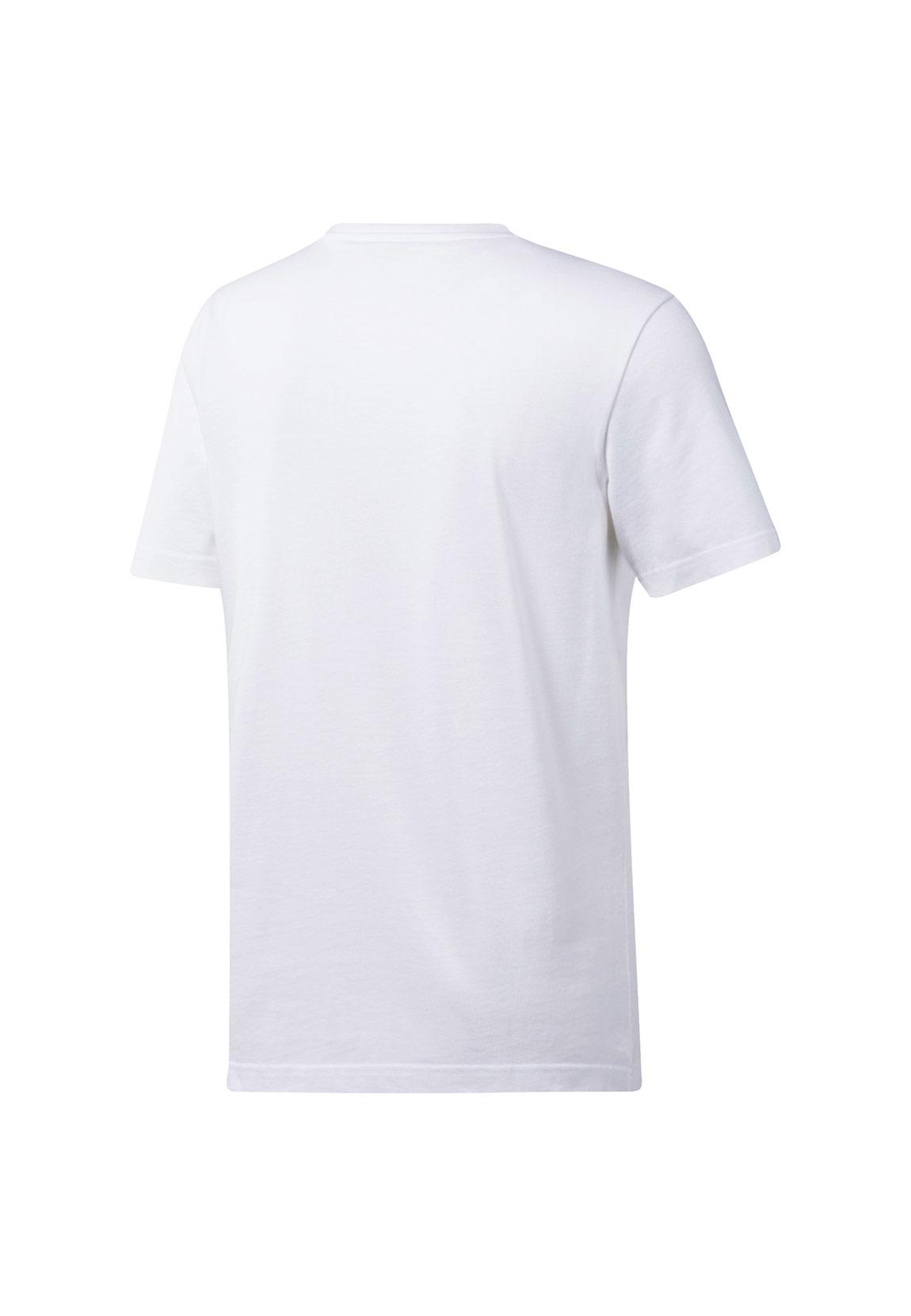 Reebok T Shirt Herren CL V TEE DX3818 Weiß