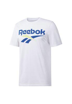 Reebok T-Shirt Herren CL V TEE DX3818 Weiß – Bild 0