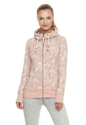 Ragwear Zipper Damen LIBERTY B ORGANIC 1911-30078 Rosa Dusty Pink 4061