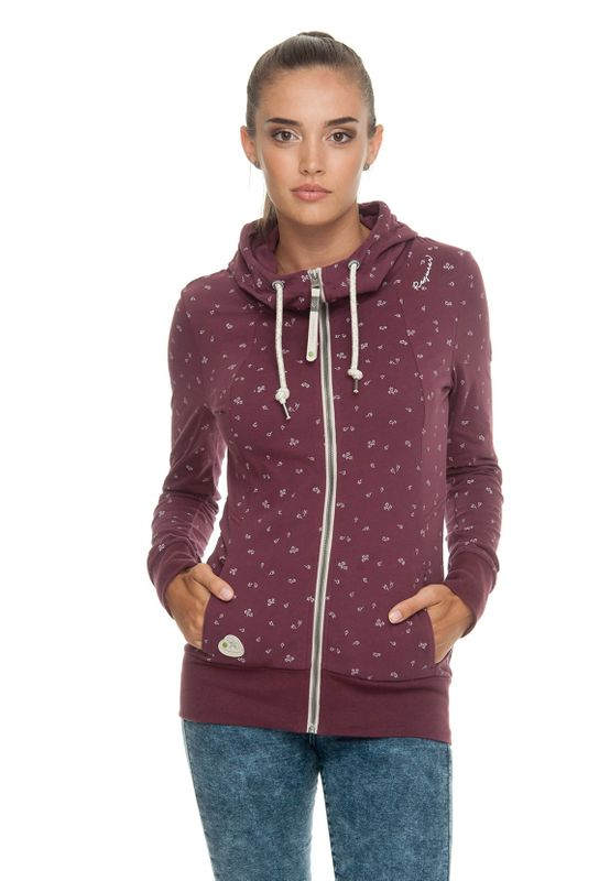 Ragwear Zipper Damen LIBERTY C ORGANIC 1911-30079 Rot Wine Red 4055