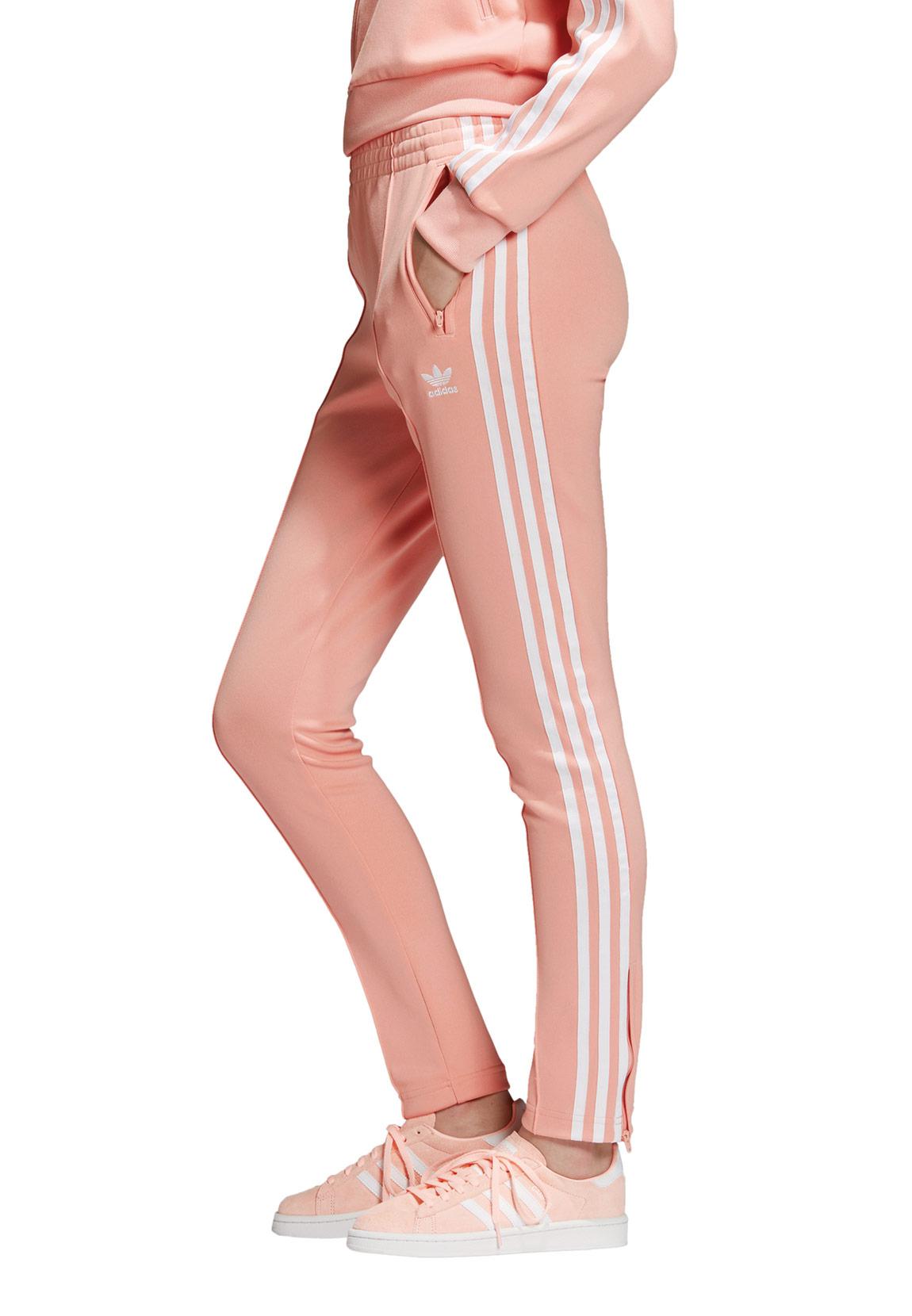 f857c60d57767b Adidas Originals Jogginghose Damen SST TP DV2593 Rosa Damen Shorts ...