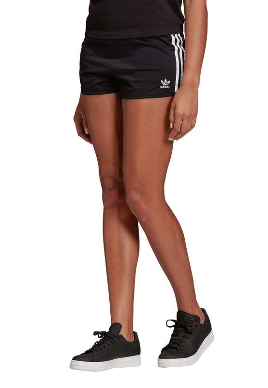 Adidas Originals Shorts Damen 3 STR SHORT DV2555 Schwarz – Bild 1