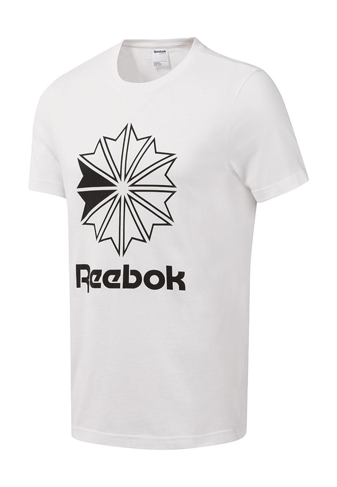 the best attitude ef186 7fbf0 Reebok T-Shirt Herren CL BIG LOGO TEE DT8117 Weiss